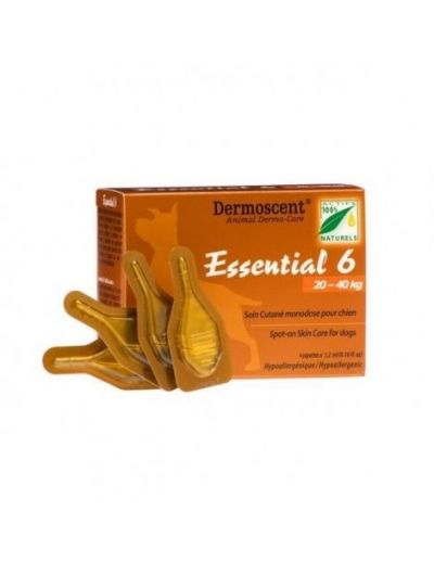 Dermoscent Essential 6 Dog 20-40Kg 4Pk