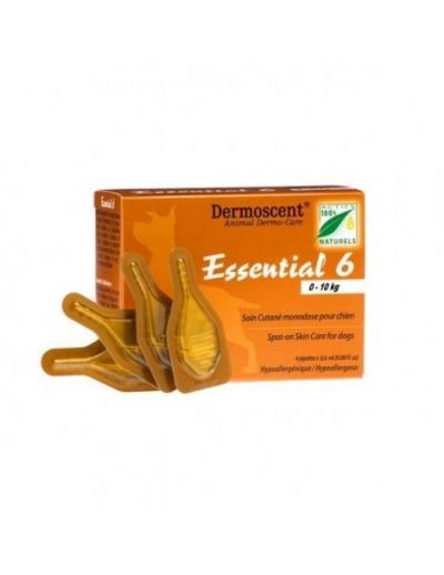 Dermoscent Essential 6 Dog 0-10Kg 4Pk