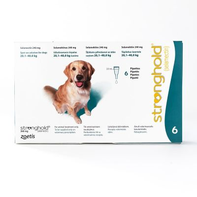 Stronghold For Dogs 20.1-40kg (44-88lbs) Teal, 6 Pack